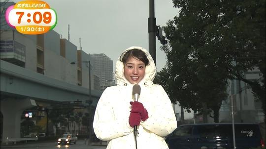 黒すぎる女子アナ岡副麻希ちゃんの脇がいい匂いしそうだと話題に!GIF動画あり 画像26枚
