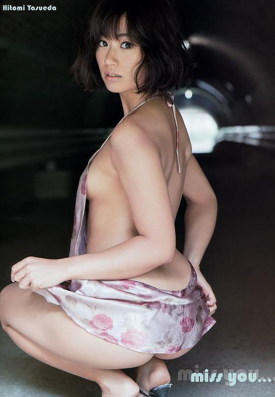 いまもっとも美尻と囁かれているグラビアアイドル安枝瞳ちゃんが可愛すぎると話題