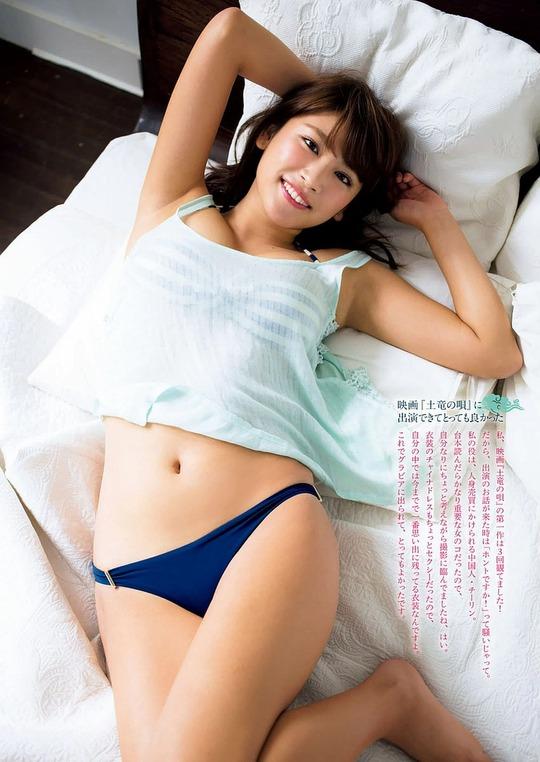 いまもっとも抜けるグラドル久松郁実ちゃんの水着姿が常軌を逸したエロさだと話題に
