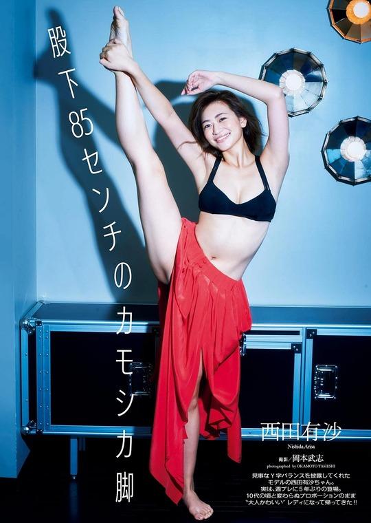 世界的スター・ピコ太郎とCMで共演し話題になっている西田有沙ちゃんの水着グラビアがエッチすぎると話題!
