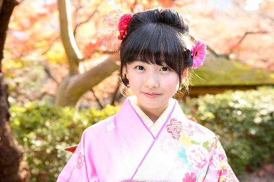 春から中学生の本田望結ちゃんの晴れ着姿が可愛すぎると話題!