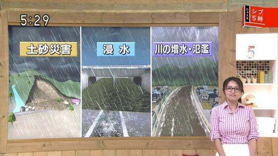 お天気お姉さん福岡良子ちゃんの推定Gカップおっぱいが話題に!これこそ我々が追い求めていた気象予報士だ!
