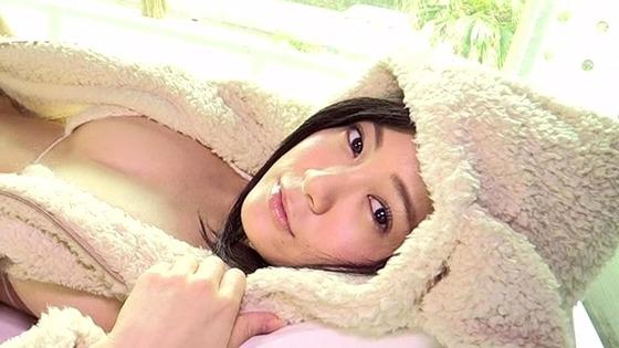 HカップバストRaMuちゃんの最新イメージビデオがエロすぎる!おっぱいをプルプル揺らしまくる!