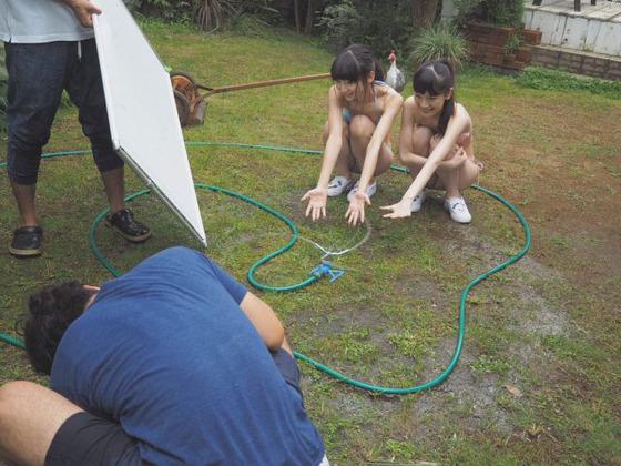 NGT48荻野由佳と太野彩香の水着姿が痩せててエロすぎると話題に