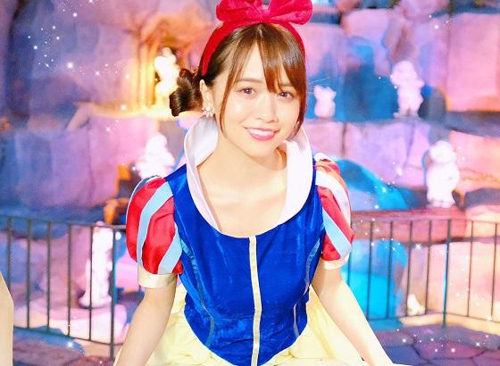 モテクリエイター菅本裕子ちゃんの白雪姫コスプレが可愛すぎる!