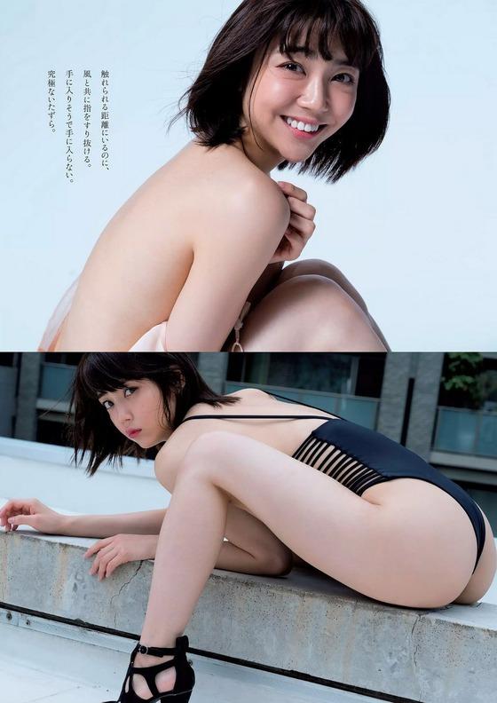 戦隊ヒロインとして活躍した山谷花純ちゃん(20)が現場でアナル見えてそうな食い込みプリケツ水着姿がエロすぎる