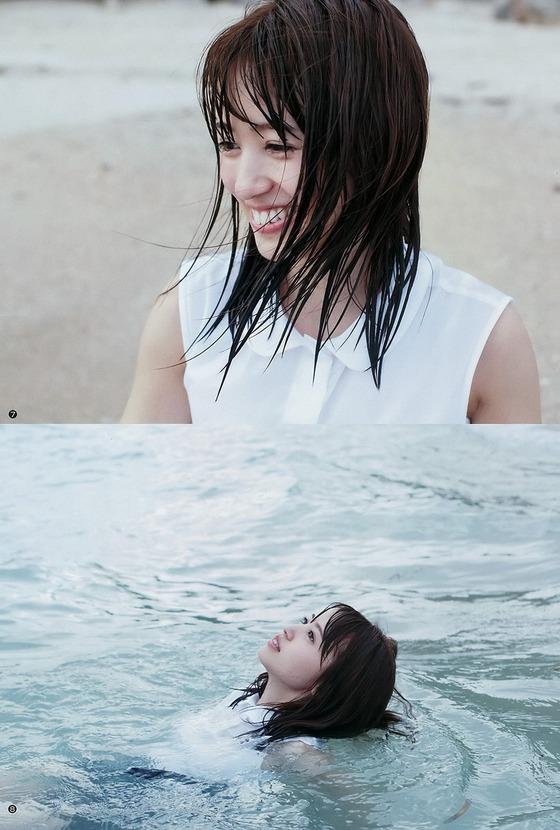 美人声優・逢田梨香子ちゃんが初グラビアで胸の谷間を披露!これ女優として通用する可愛さだろ!