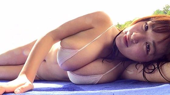 Iカップグラドル柳瀬早紀ちゃんが最新IVで水中でおっぱい揺らしまくっててエロいと話題