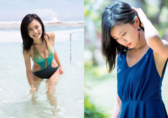 小島瑠璃子ちゃんの最新水着グラビアがエッチすぎる!理想的なおっぱいの大きさだと話題に!