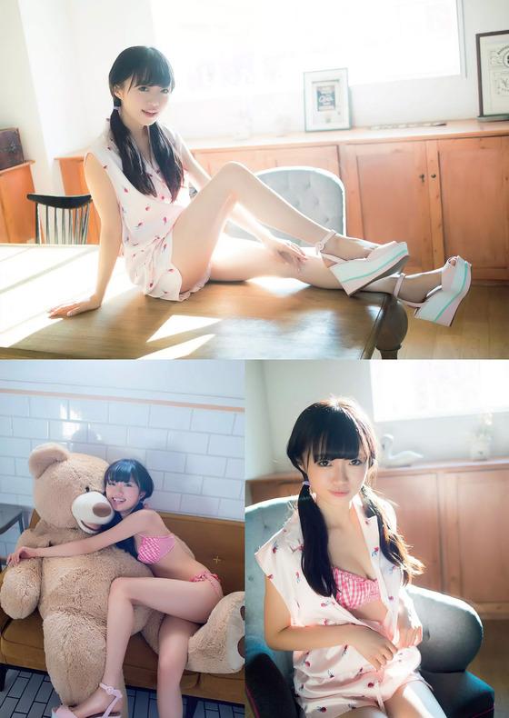 NGT48中井りかちゃんの水着姿が大人っぽくてエッチすぎると話題に